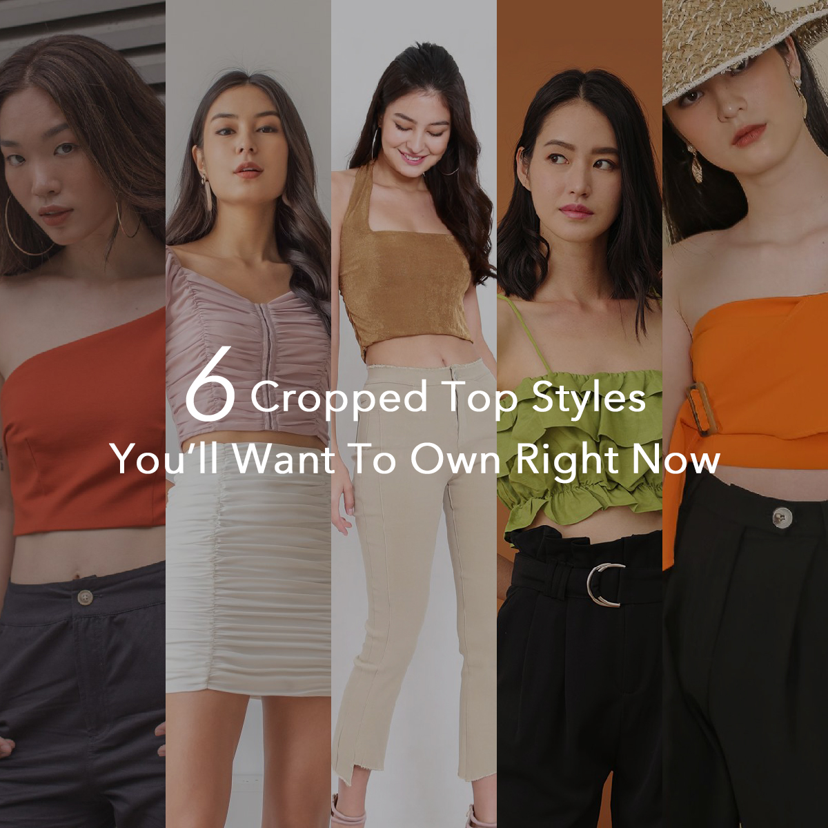 6 Cropped Top Styles You'll Want To Own Right Now